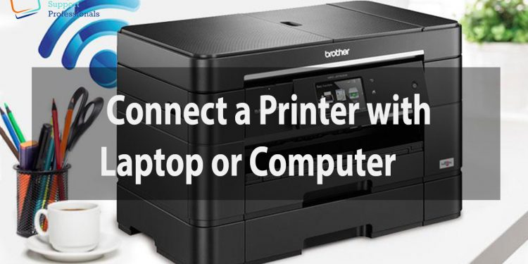 Connect a Printer to a Laptop
